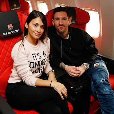 One Word For this Couple Love????????????? #messi