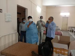 सांसद की पहल पर ग्रेसिम उदयोग ने चरक अस्पताल के लिए दिए 30 ऑक्सीजन कॉन्सन्ट्रेशन