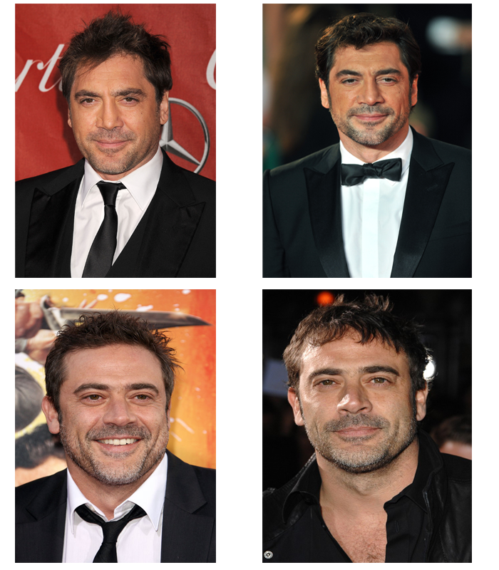 Jeffrey Dean Morgan Vs  Javier Bardem  Updated    Celeb Confusion Jeffrey Dean Morgan Vs  Javier Bardem  Updated
