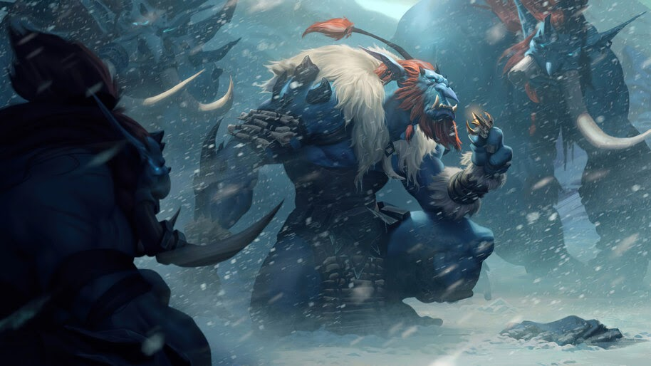 Troll Scavenger, Freljord, Legends of Runeterra, 4K, #5.2691