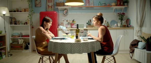 Natalia de Molina, Celia de Molina, Corto, Marta no viene a cenar