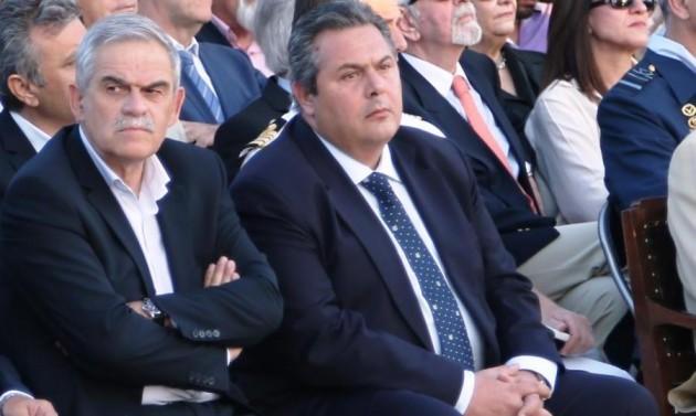 Ο Τόσκας διαψεύδει τον Καμμένο για το ΝΑΤΟ και τους λαθρομετανάστες
