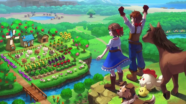 Harvest Moon One World Game Cover