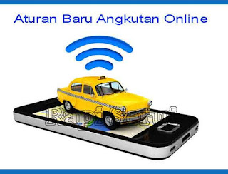 Aturan Baru Angkutan Online