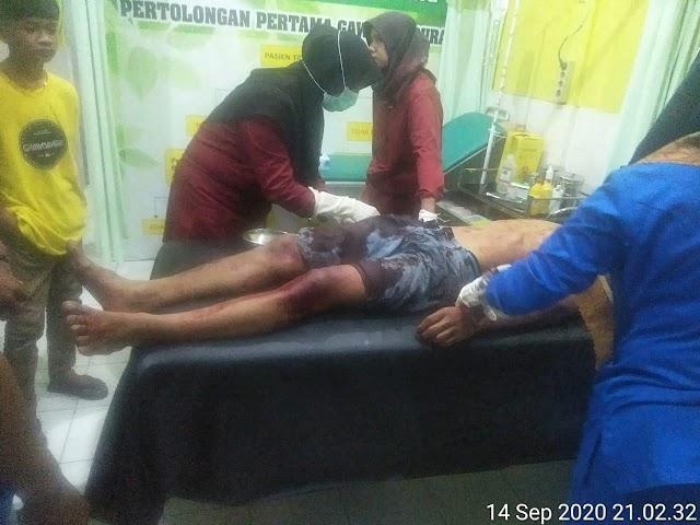 Seorang Sopir Angkot Ditusuk di Lubuk Alung