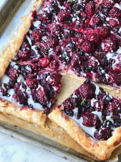Blackberry Cheese Danish Recipe