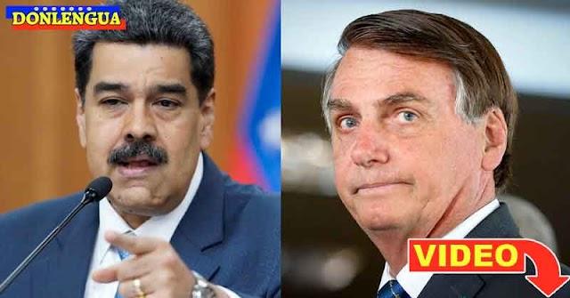 Maduro se lava las manos y culpa a Brasil por aumento de casos del Virus Asiático