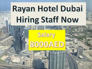 hotel jobs in dubai, dubai hotel jobs
