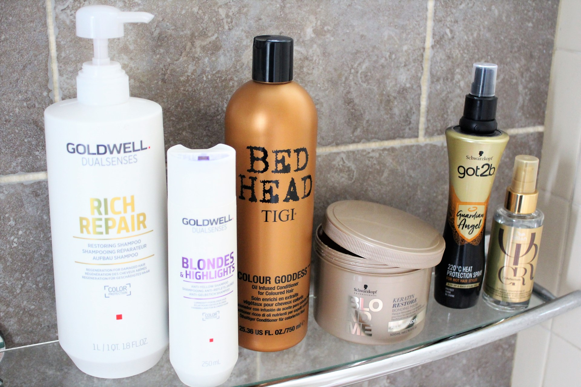 my current haircare routine