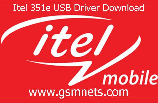 Itel 351e USB Driver Download