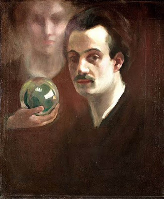 khalil Gibran, Portraits of Painters, Self Portraits