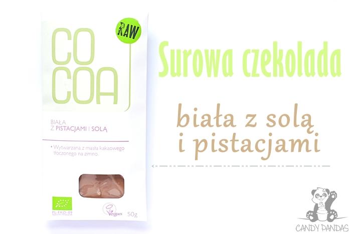 Biała czekolada z pistacjami i solą – SuroVital