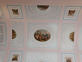 The library ceiling, Kenwood House (2019)