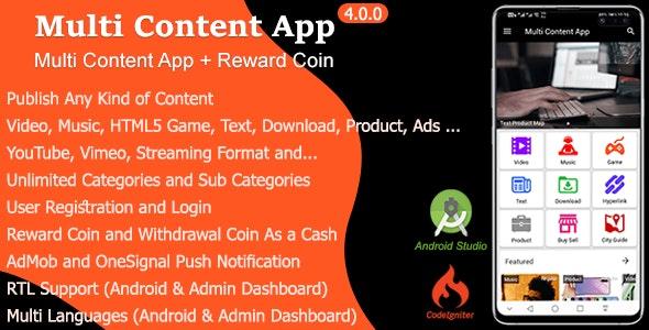 Multi Content App v4.0.0