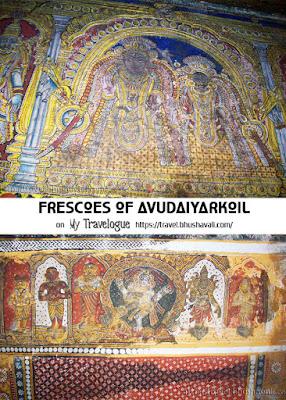 Avudaiyarkoil Aathmathar Temple Frescoes Pinterest