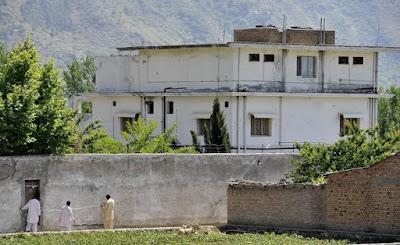 Osama house in abbottabad, Pakistan