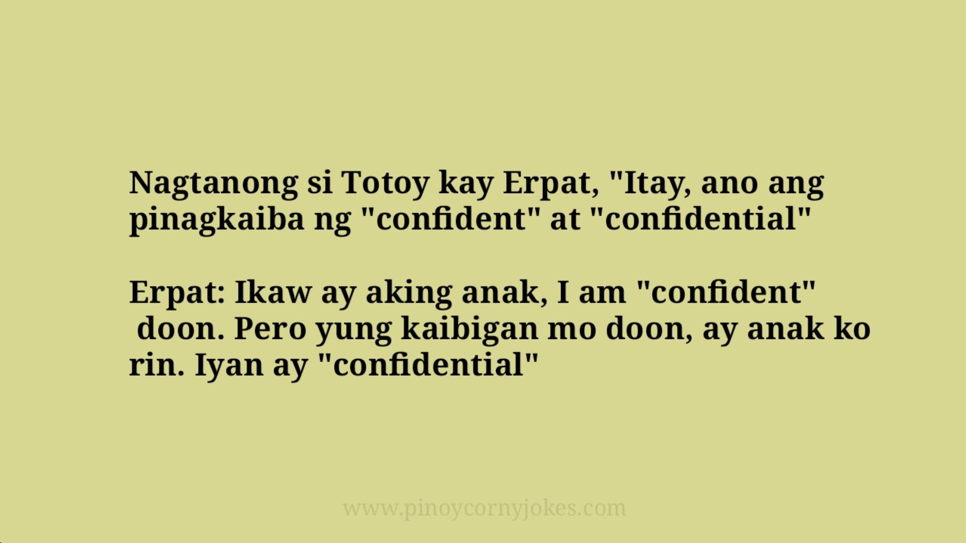 confidential family pinoy jokes