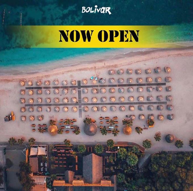 Το Bolivar Beach Bar ανοίγει και πάλι τις πόρτες του για το 2020