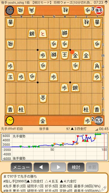 矢倉戦 雁木に組むかどうか悩む 将棋ウォーズ棋譜