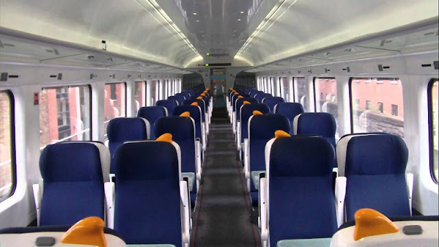 Como é o serviço de trem na Irlanda e na Europa