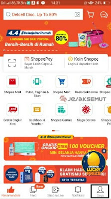 cara daftar shopee seller center