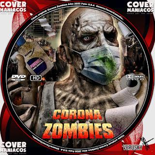 GALLETA CORONA ZOMBIES 2020[COVER DVD]