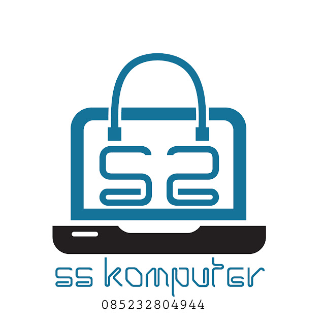 Jasa Desain logo SS Komputer, Toko komputer di samarinda