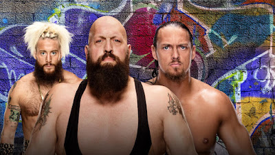 Big Show vs. Big Cass Shark Cage Match