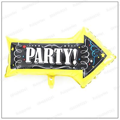 bong hinh mui ten party