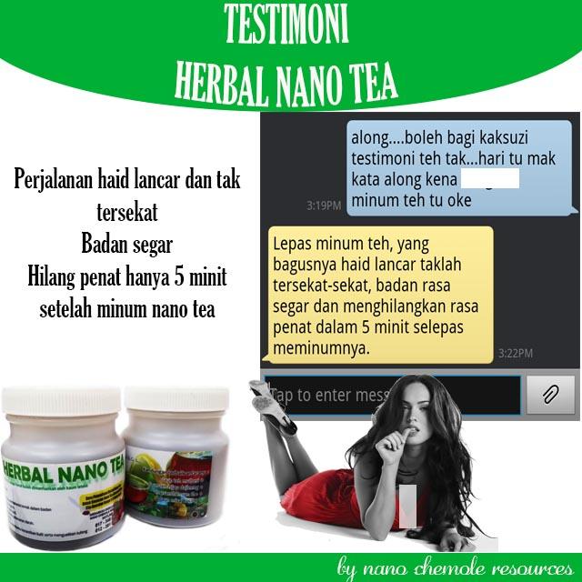 Testimoni Herbal Nano Tea