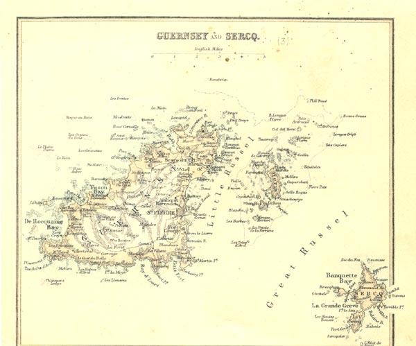 Mapas de Guernsey   Reino Unido