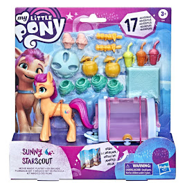 My Little Pony Movie Magic Playset Sunny Starscout G5 Pony