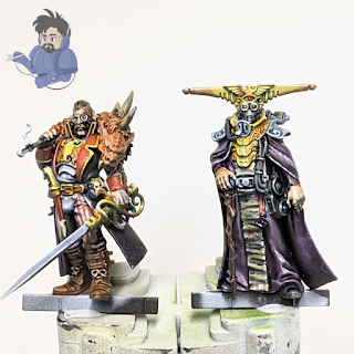 Janus Draik and Espern Locarno from Blackstone Fortress