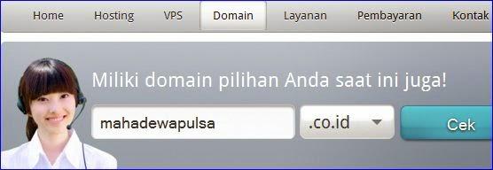 cara membeli domain di rumahweb