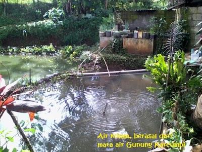 Air Bersih dari Sumber Mata Air Terbuang