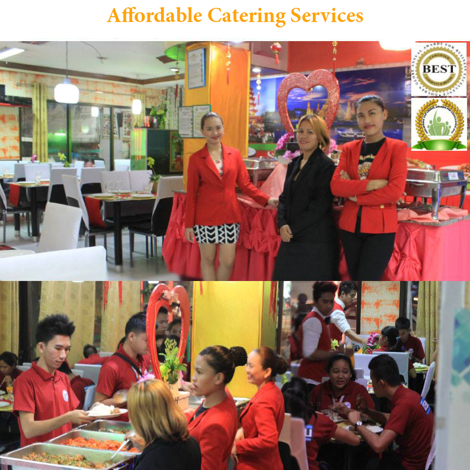 Cebu best affordable catering services free venue for Best catering services