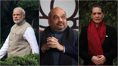 Sonia Gandhi also targeted Prime Minister Narendra Modi and Home Minister Amit Shah