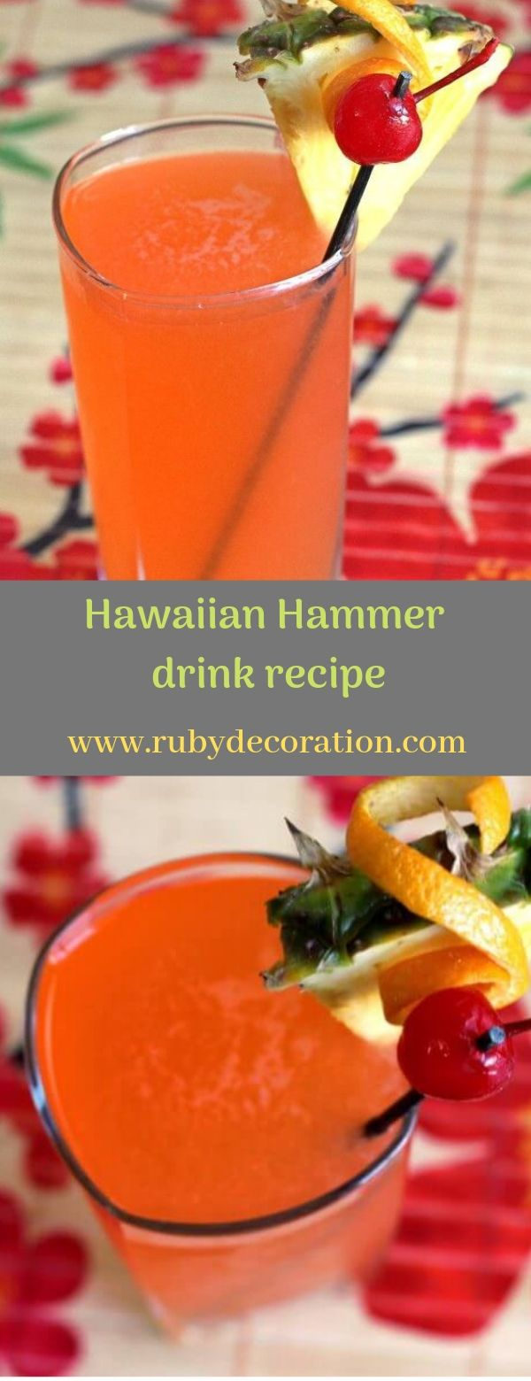 Hawaiian Hammer drink recipe