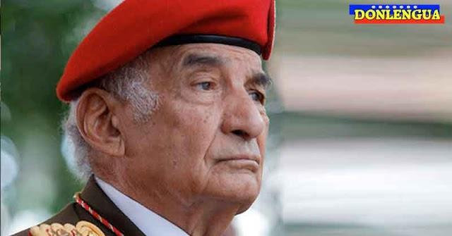 General en Jefe de las FANB salio positivo para el V. Chino