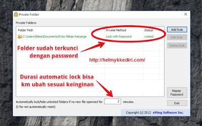 Cara Mengunci Folder dengan Password4
