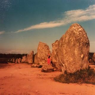 Monoliths in Carnac foto 1986