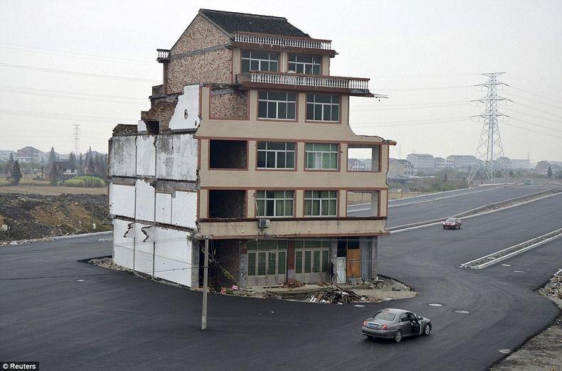 Rumah di Wenling, Cina