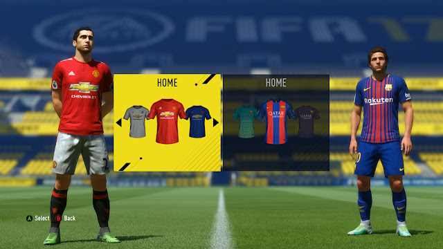Kumpulan Kits (Jersey) Terbaru Musim 17/18 untuk FIFA 17