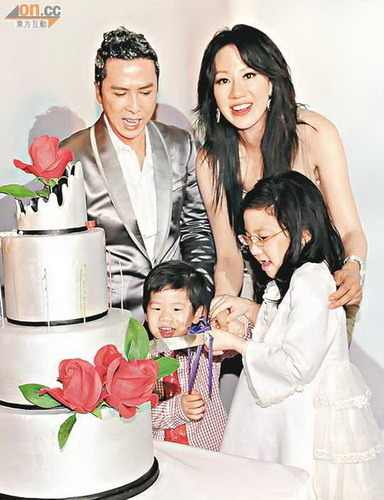 Pics For > Donnie Yen Wife Cecilia Wong