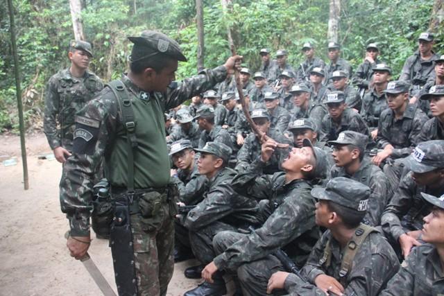 70b4897228 2º Batalhão de Infantaria de Selva realizou o Estágio Básico do Combatente  de Selva para 300 militares