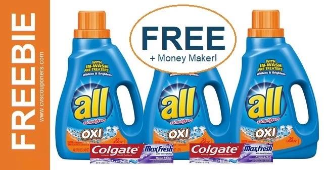 FREE All Laundry Soap CVS Deals