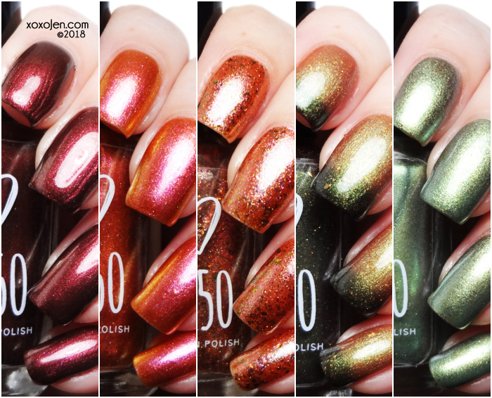 xoxoJen's swatch of 1850 Artisan  California Fall