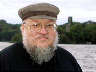 George R. R. Martin writes with a DOS word processor