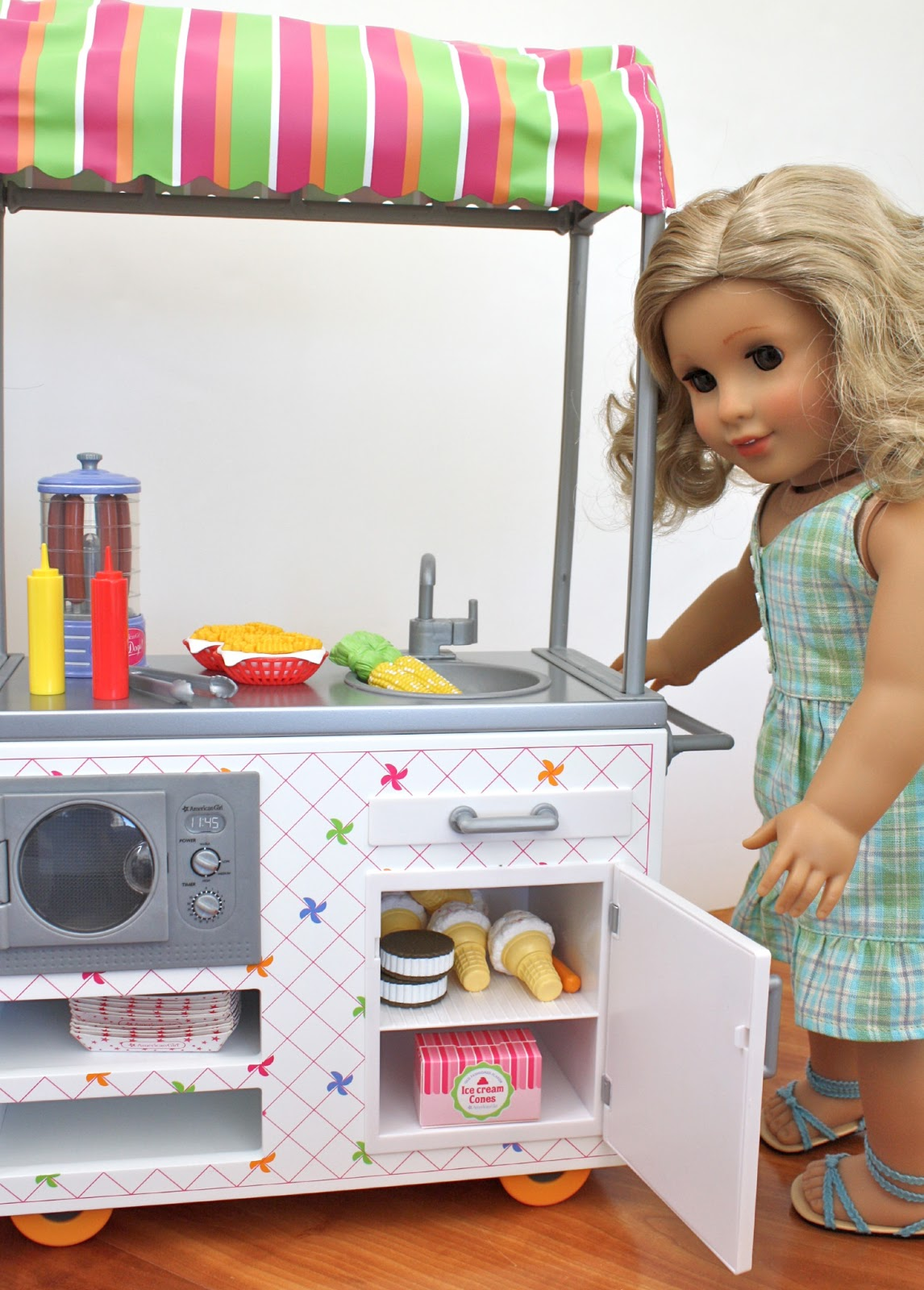 Pippaloo For Dolls Product Review Campus Snack Cart
