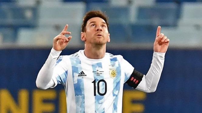 """Lionel Messi: """"Gracias Dios por haberme hecho argentino"""""""